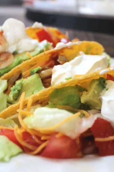 Weight Watchers Shredded Chicken Tacos