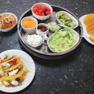 Weight Watchers Shredded Chicken Tacos: 5 SmartPoints
