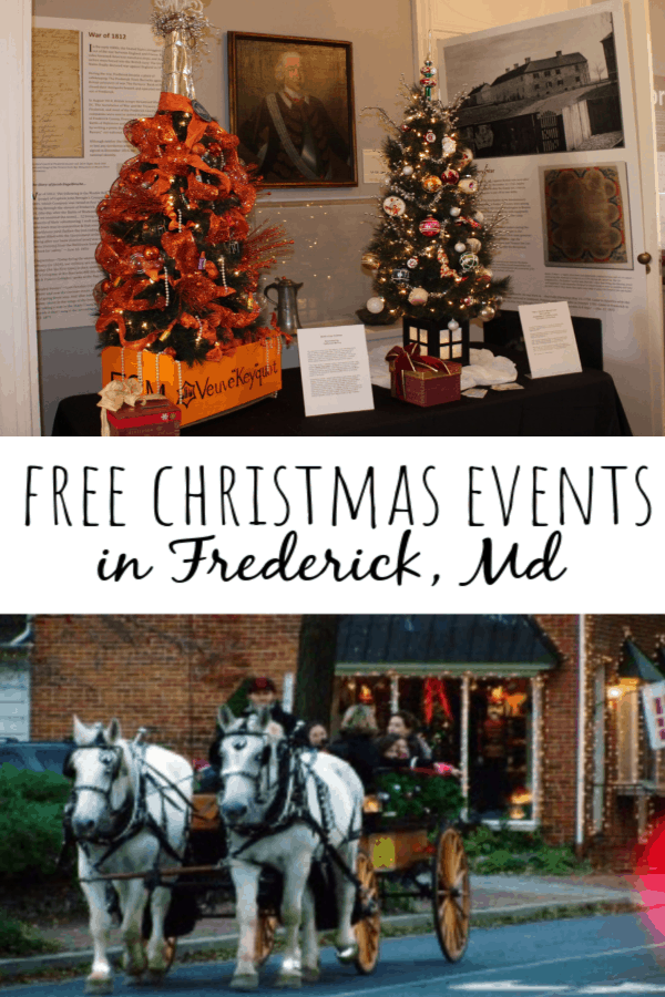 Free Christmas Events in Frederick, Md: Tis the Season!