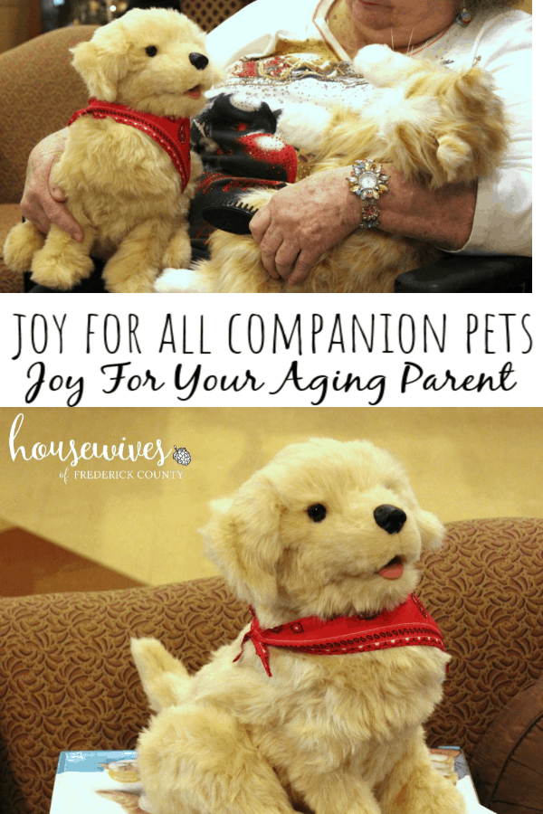 Joy For All Companion Pets Bring Joy To Your Aging Parent
