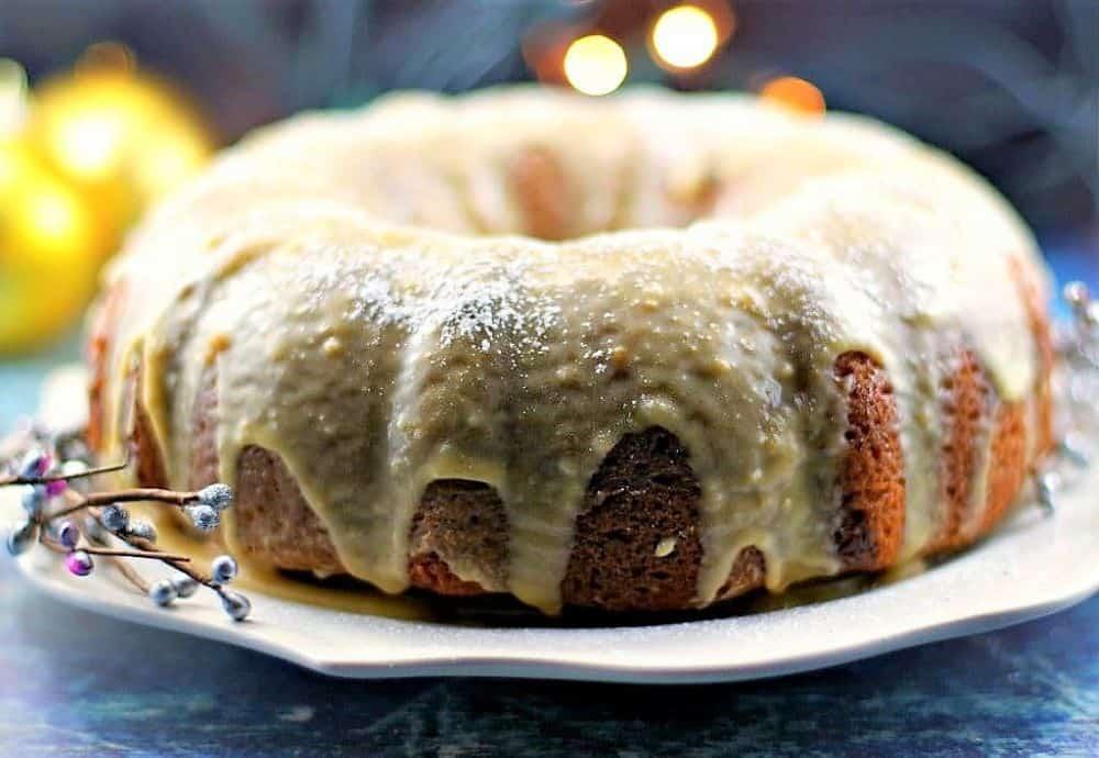 Butter Tart Bundt Cake