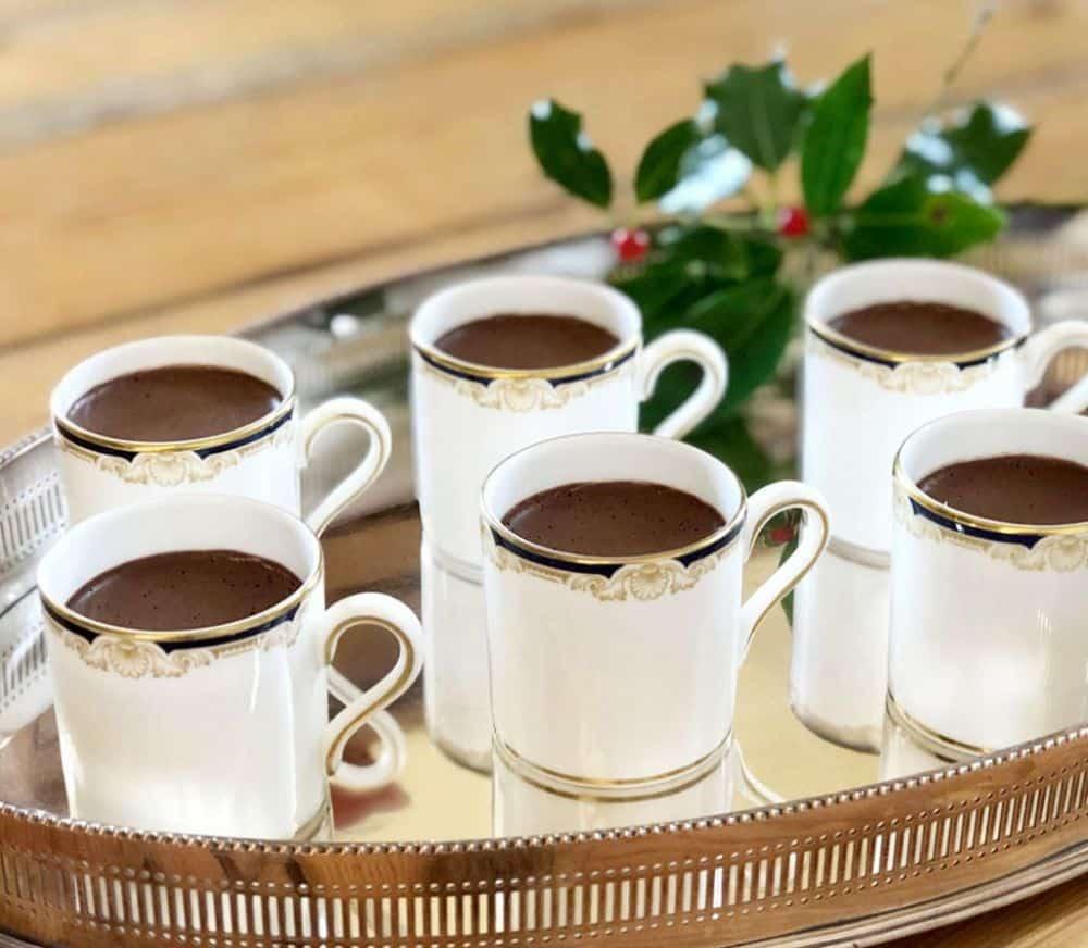 Chocolate Chestnut Pots