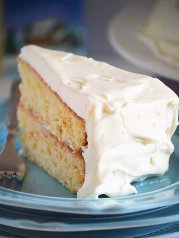 Eggnog Cake - Christmas Dessert Recipes