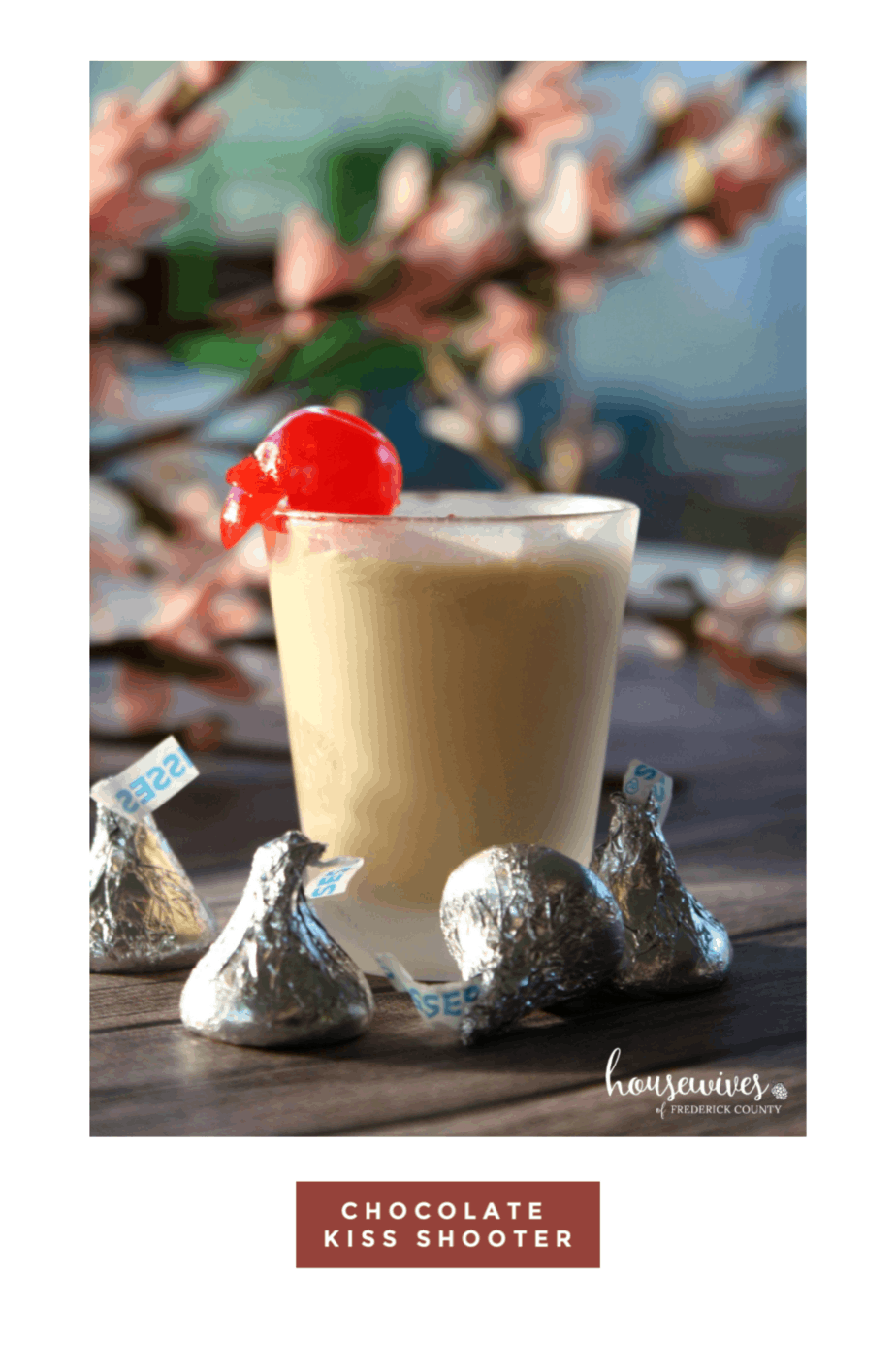 A Chocolate Alcohol Drink For Valentines Day: Chocolate Kiss Shooter!