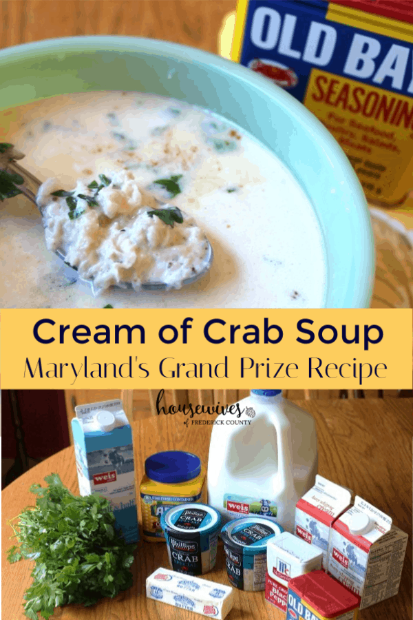 Cream of Crab Soup: Maryland's Grand Prize Recipe