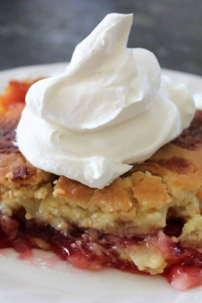 Dump Cake with Cherries
