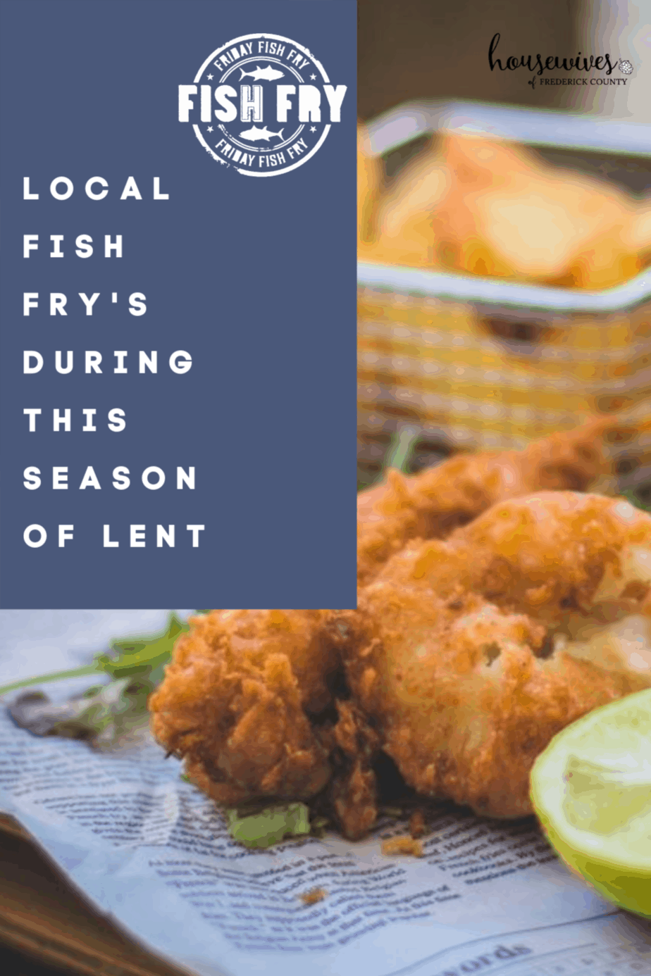 Local Fish Fry's During This Season of Lent