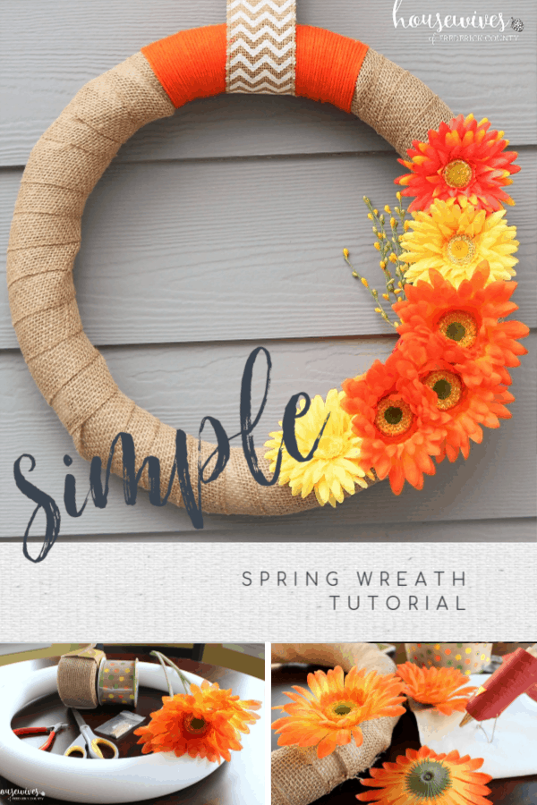 How to Make A Front Door Wreath Step By Step