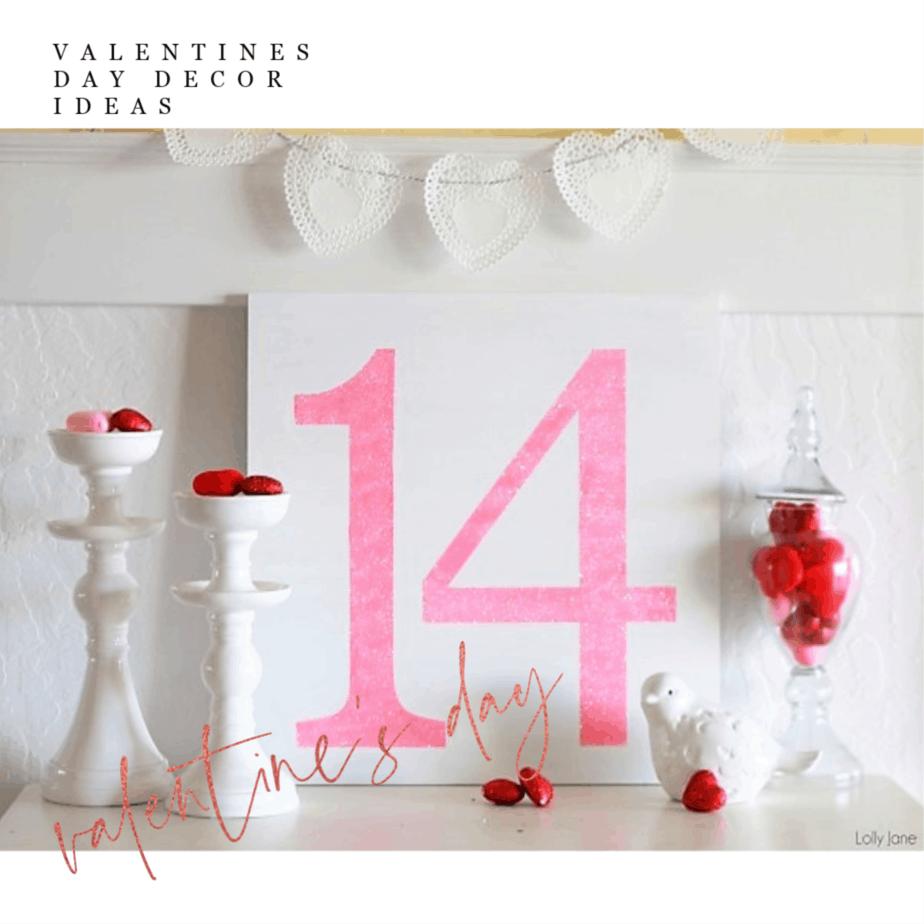 The 7 Best DIY Valentine's Day Decor Ideas!
