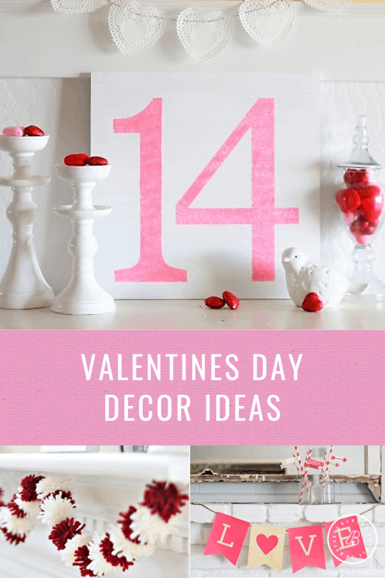 The 7 Best DIY Valentine's Day Decor Ideas!
