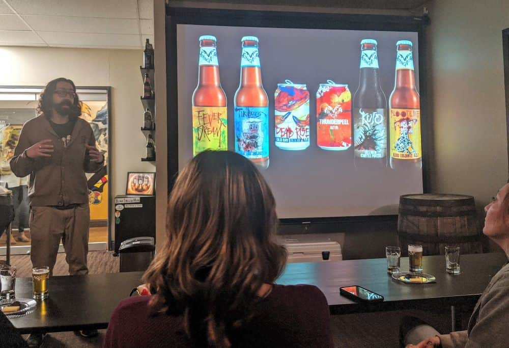 Getting educated on craft beer