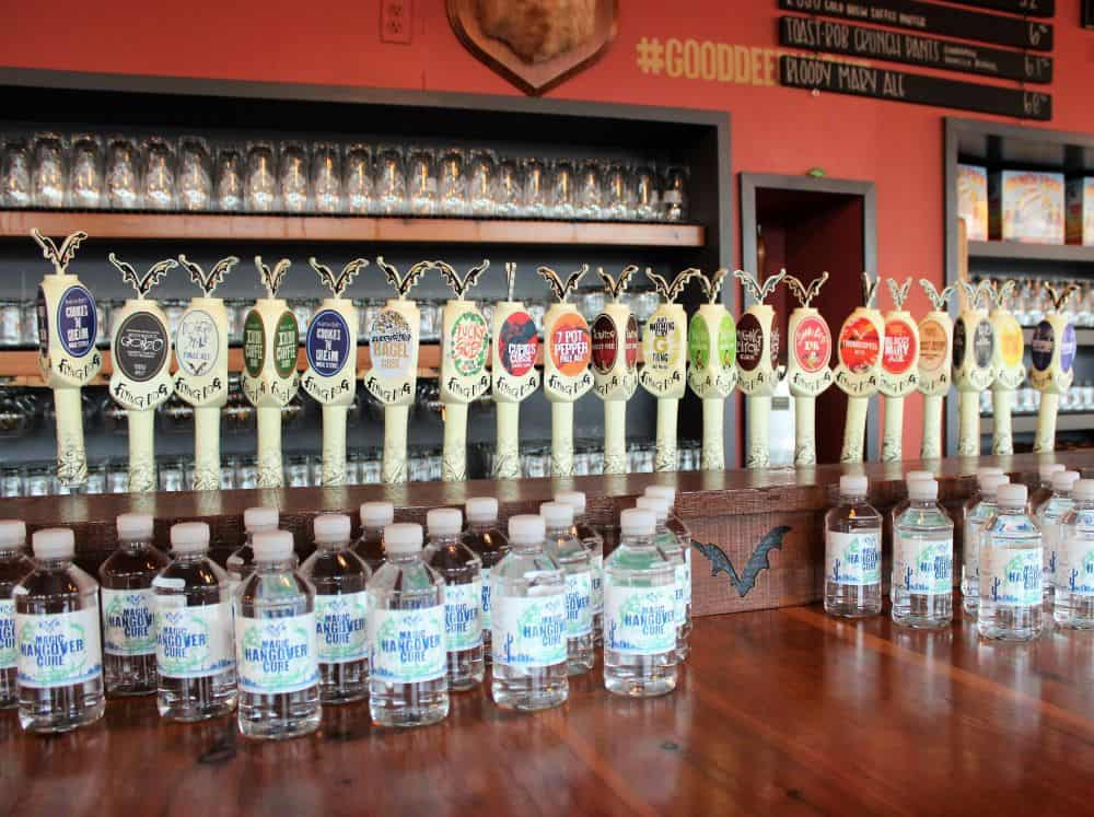 Flying Dog Brewery Bar Taps
