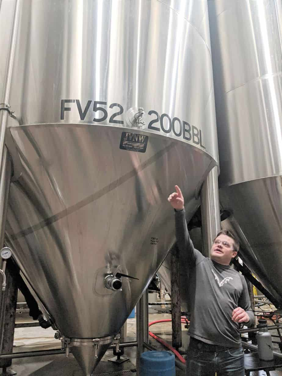 Flying Dog Brewery Tour