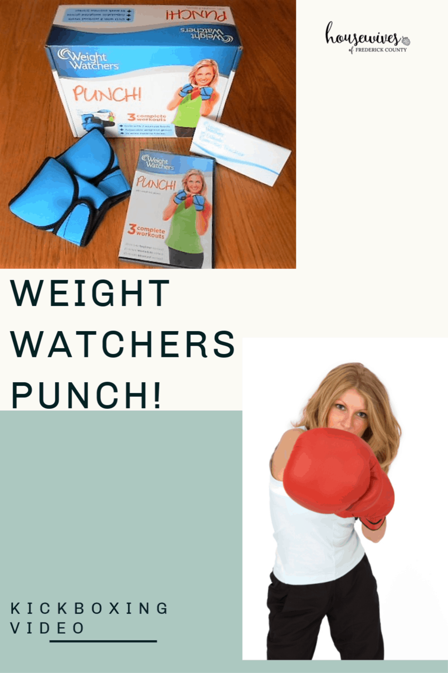 Weight Watchers PUNCH! Kickboxing Video