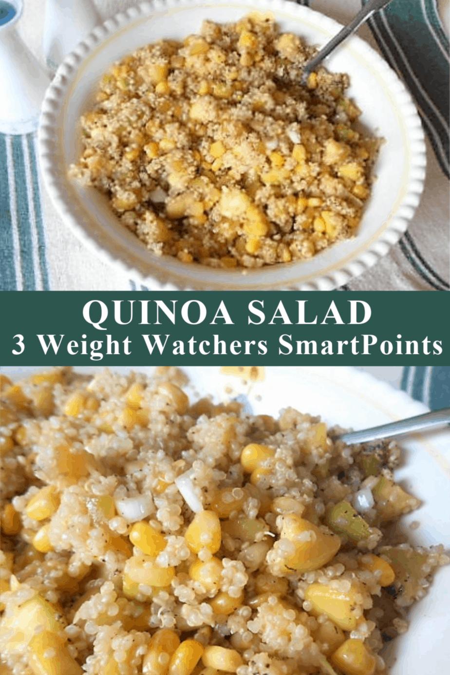 Delicious Quinoa Salad Recipe: 3 Weight Watchers SmartPoints