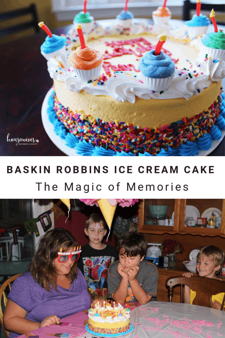 Baskin Robbins Ice Cream Cake: The Magic of Memories