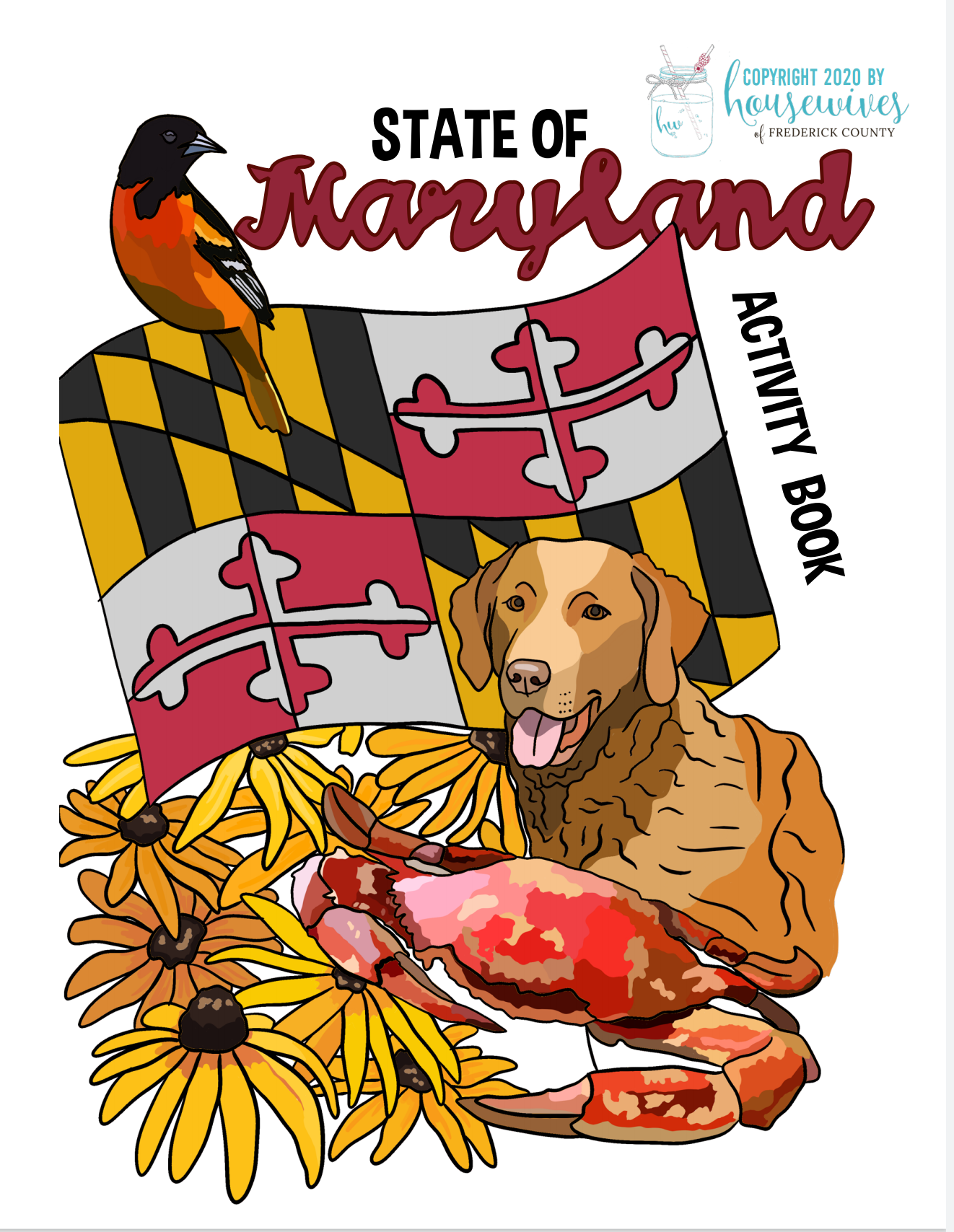 Maryland Kids Activity Book