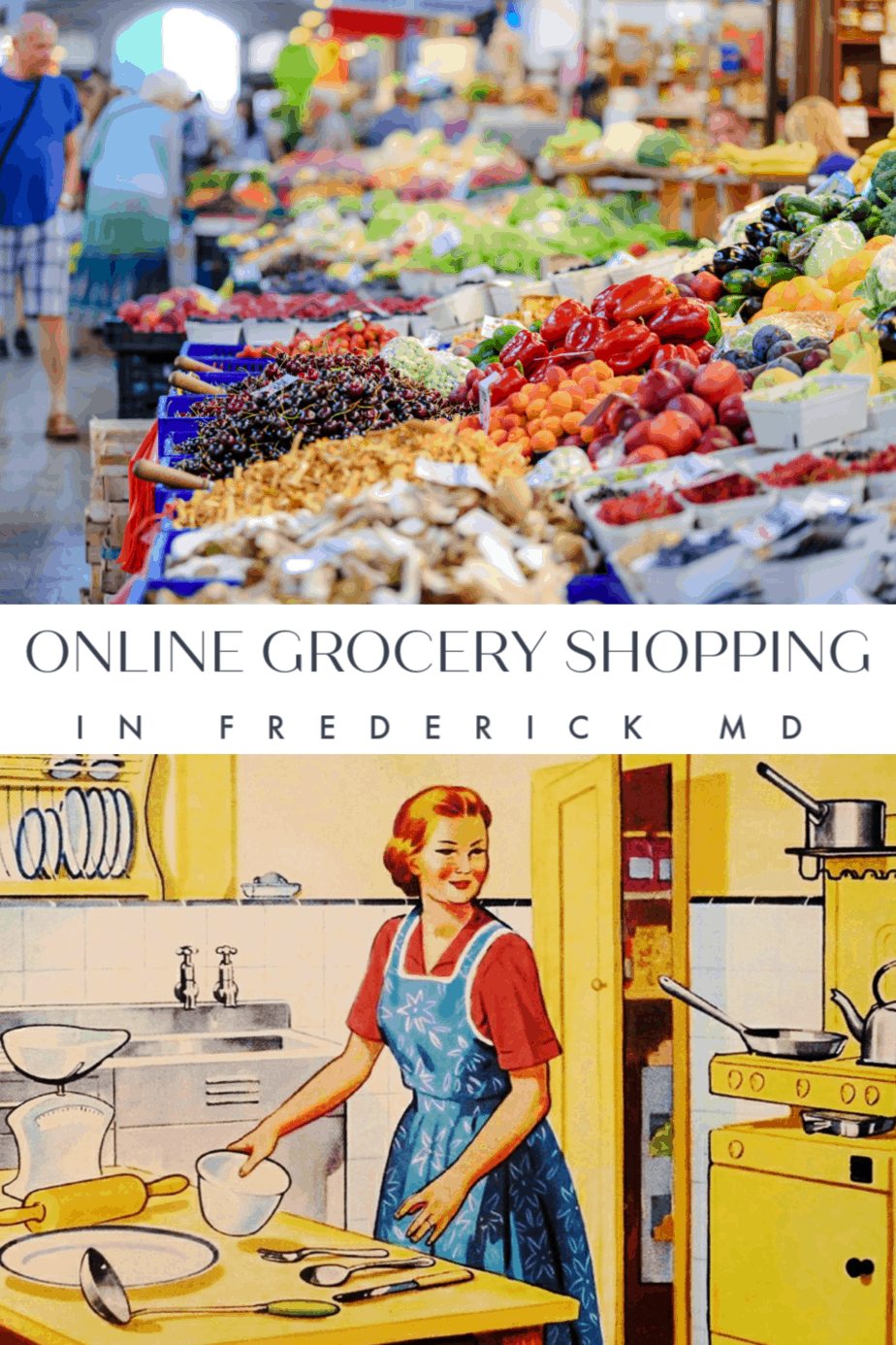 Online Grocery Shopping in Frederick, Md