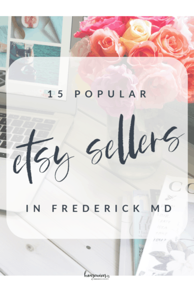 15 Popular Etsy Sellers in Frederick Md For Your Next Gift Purchase