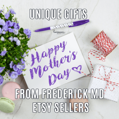 Mother's Day: Unique Gifts From Frederick Md Etsy Sellers
