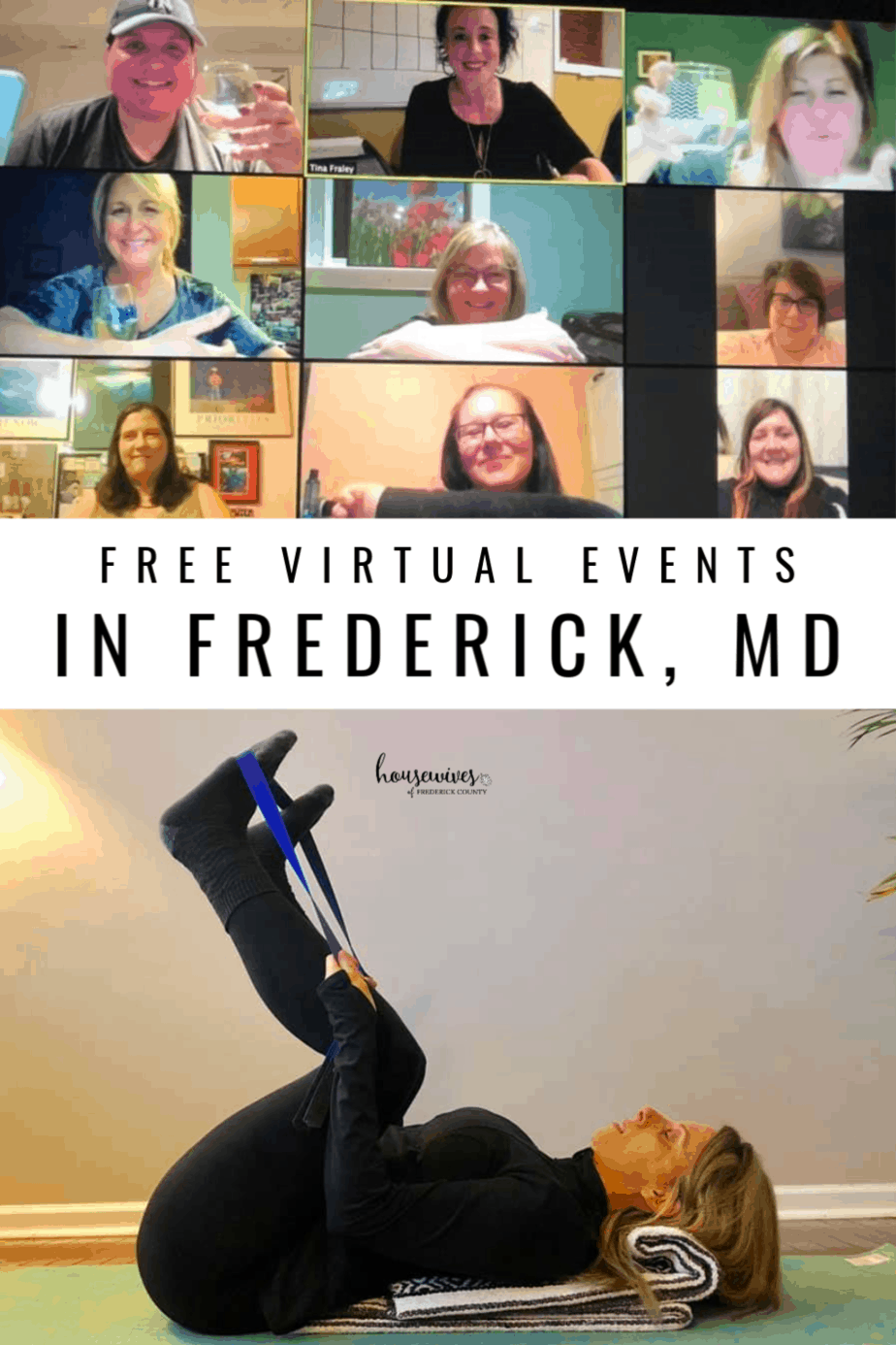 Free Virtual Events in Frederick Md You Can Enjoy From Home