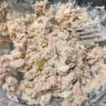 Tuna Salad with Egg