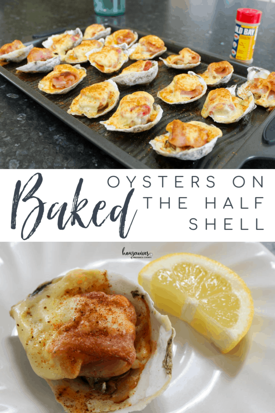 Baked Oysters On The Half Shell Recipe: Hoopers Island, Maryland