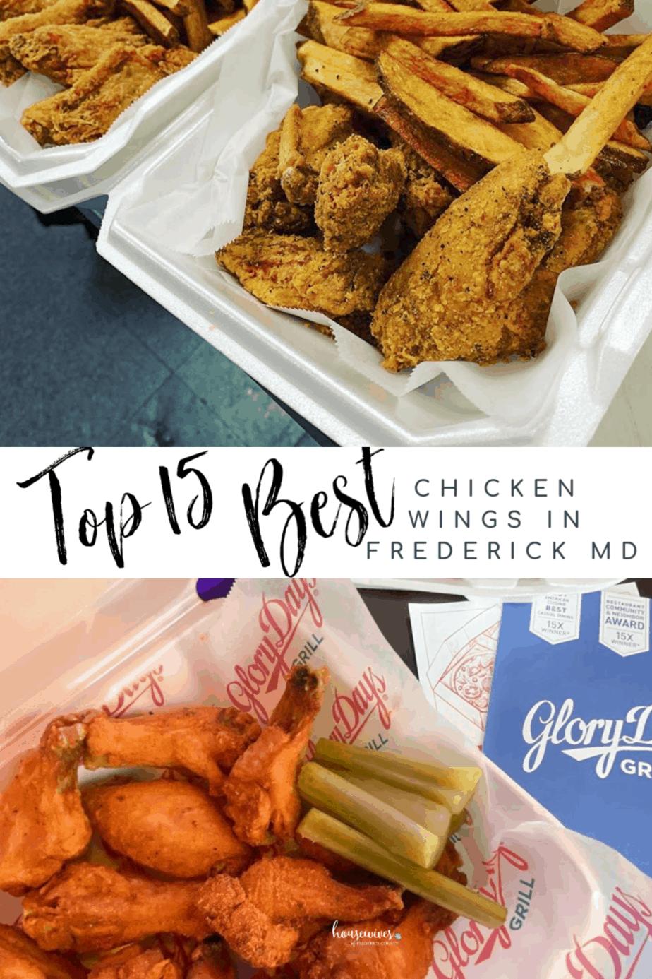 Top 15 Best Chicken Wings in Frederick Md