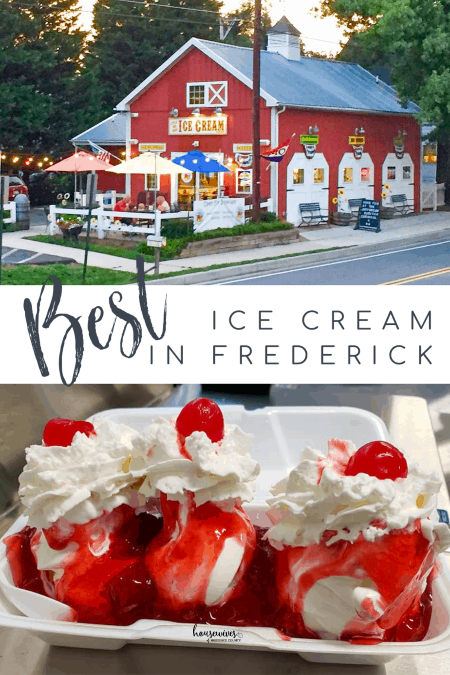 10 Best Ice Cream Places in Frederick County Maryland