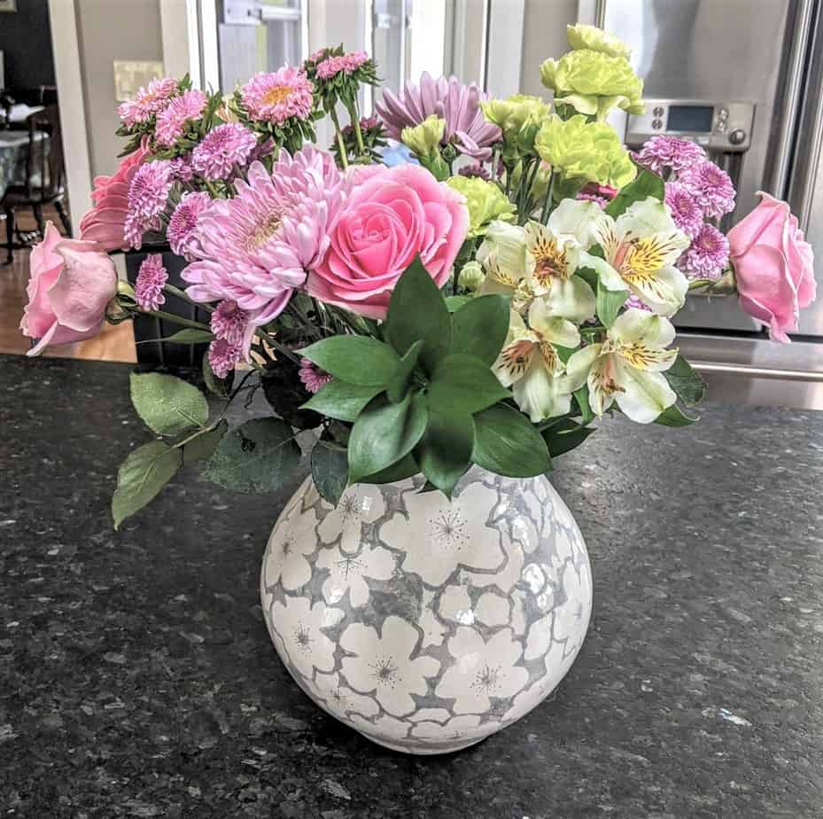 What a difference a vase makes!