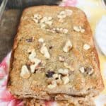 Almond Flour Banana Bread with Walnuts