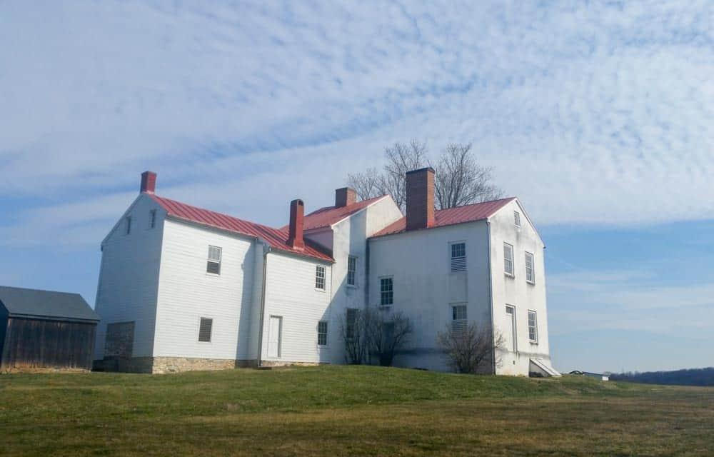 Back of the main farmhouse