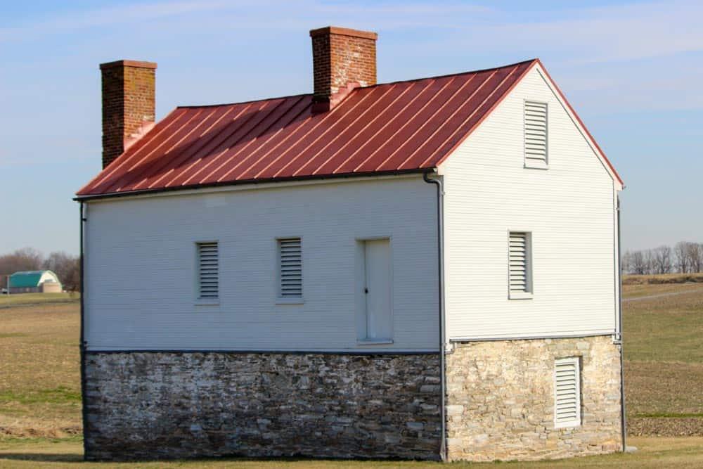 Stone & Log Secondary House