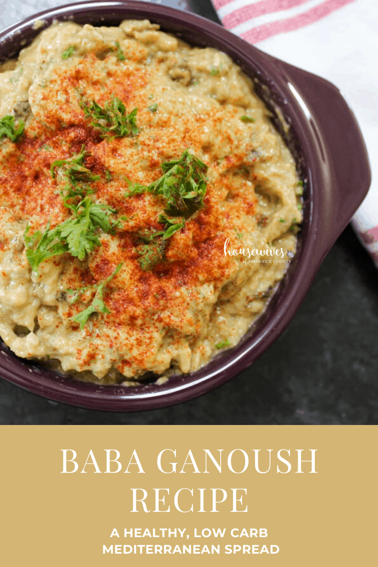 Baba Ganoush Recipe: A Healthy, Low Carb Mediterranean Spread