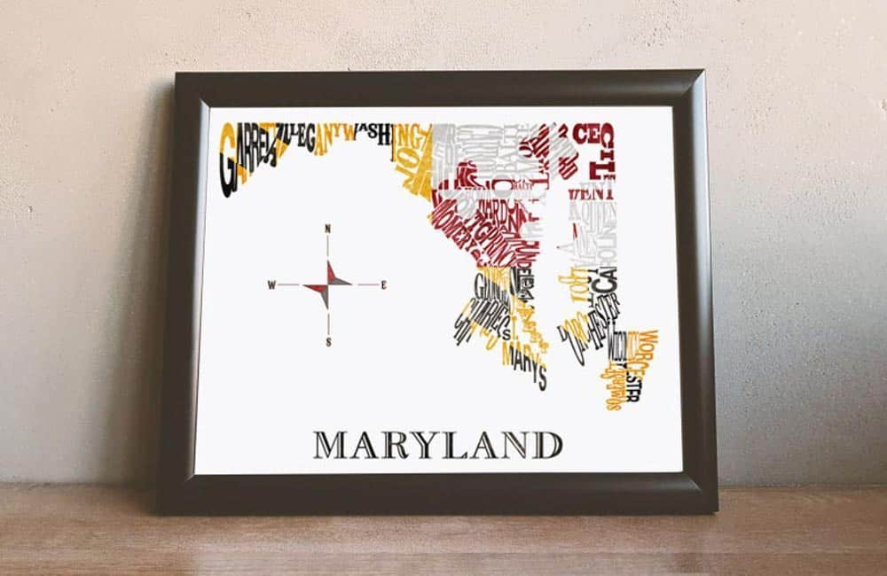 11 Awesome Made in Maryland Etsy Gifts For Marylanders