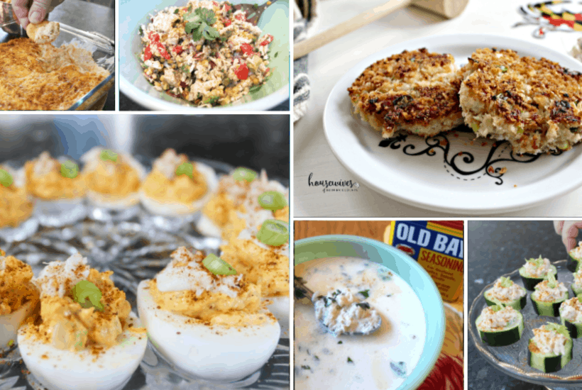 6 Decadent Crab Recipes from Maryland with Love!