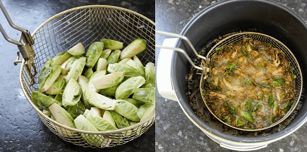 Ayse Meze Deep Fried Brussels Sprouts: A Frederick Favorite!