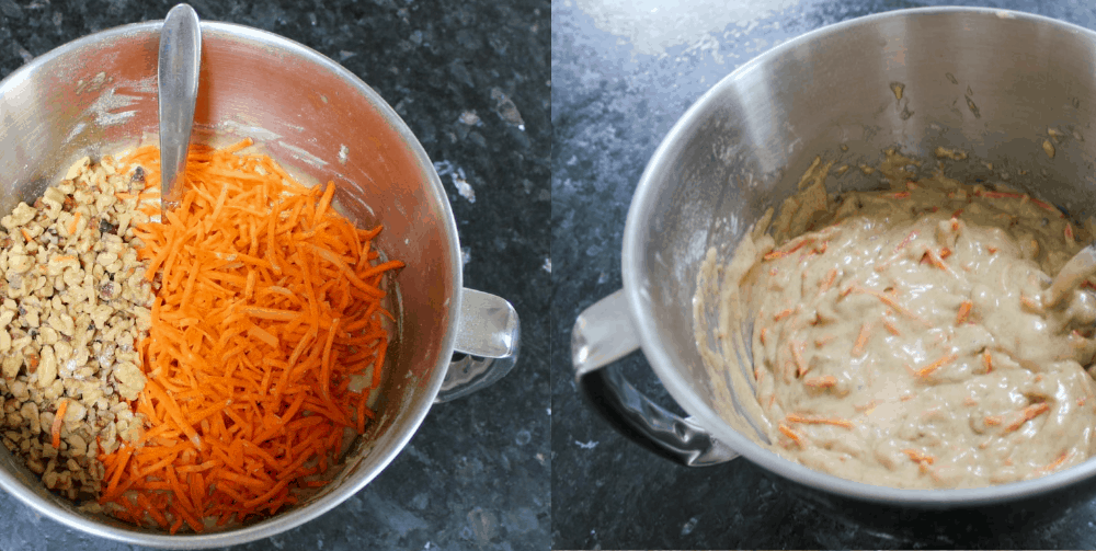 Mix Shredded Carrots & Nuts