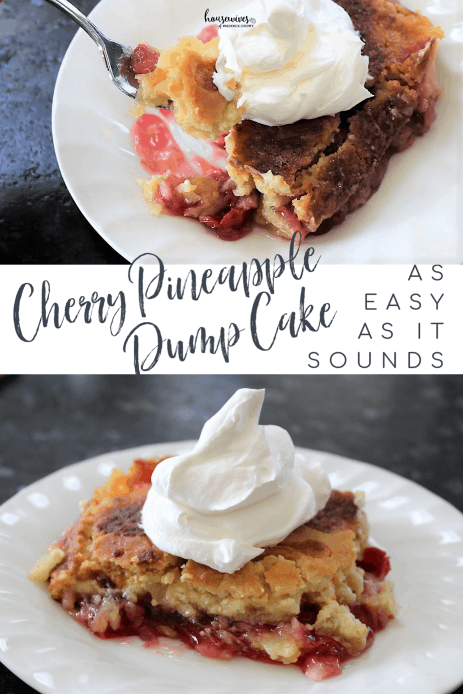 Cherry Pineapple Dump Cake: As Easy As It Sounds