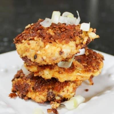 Cauliflower Fritters with Almond Flour: Low Carb & Delicious!