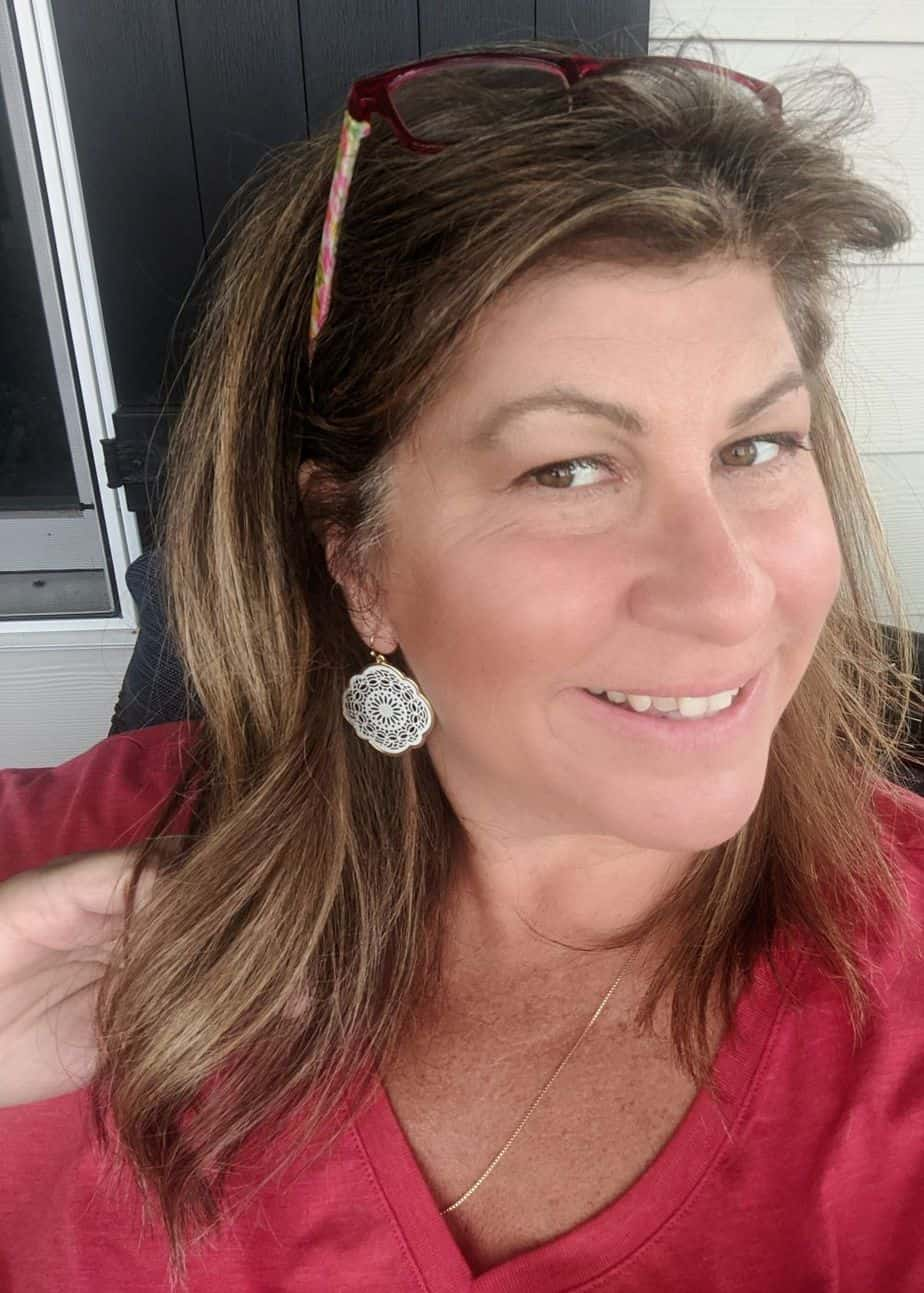 My filigree earrings