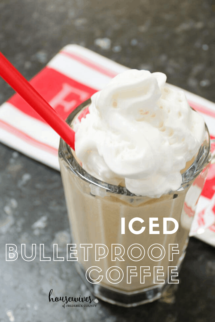 Iced Bulletproof Coffee Recipe with Coconut Cream
