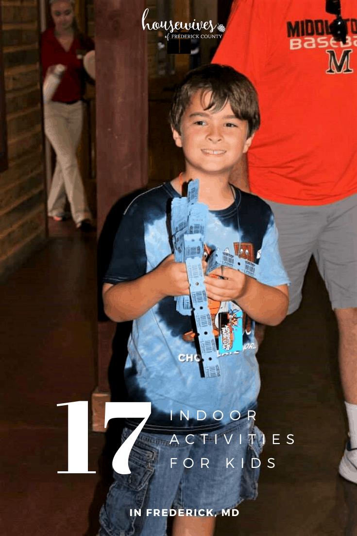 17 Indoor Activities For Kids in Frederick Md