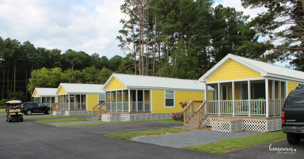 Luxurious cottages at Massey's Landing