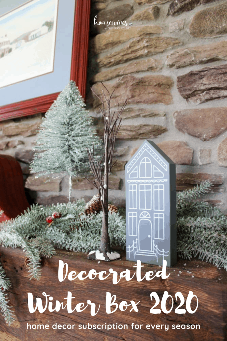 Decocrated Winter Box 2020 - Home Decor Subscription For Every Season