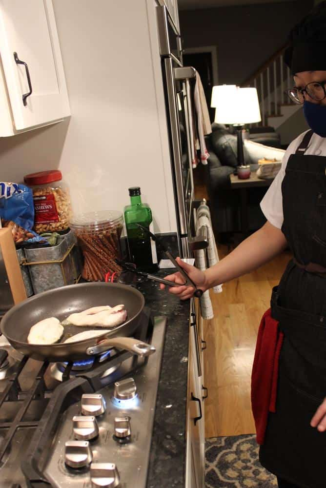 Personal Chef in Frederick, Md: Riri with Home Cooking Solutions
