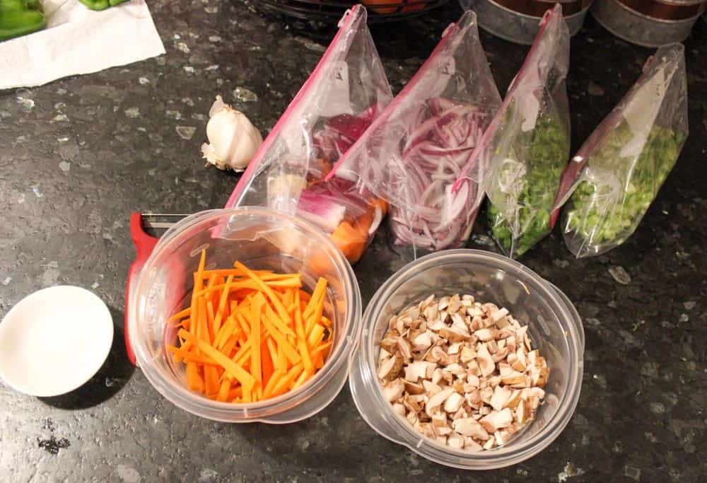 Organizing all cut produce