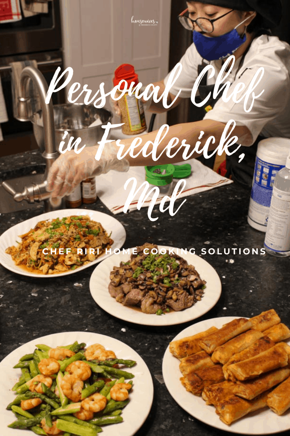 Personal Chef in Frederick Md: Riri with Home Cooking Solutions
