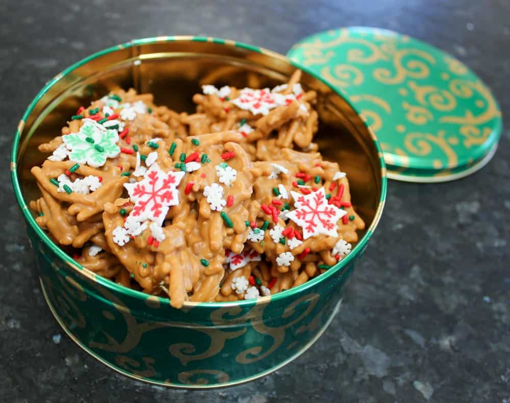 Easy Haystack Cookies with Butterscotch & Peanut Butter