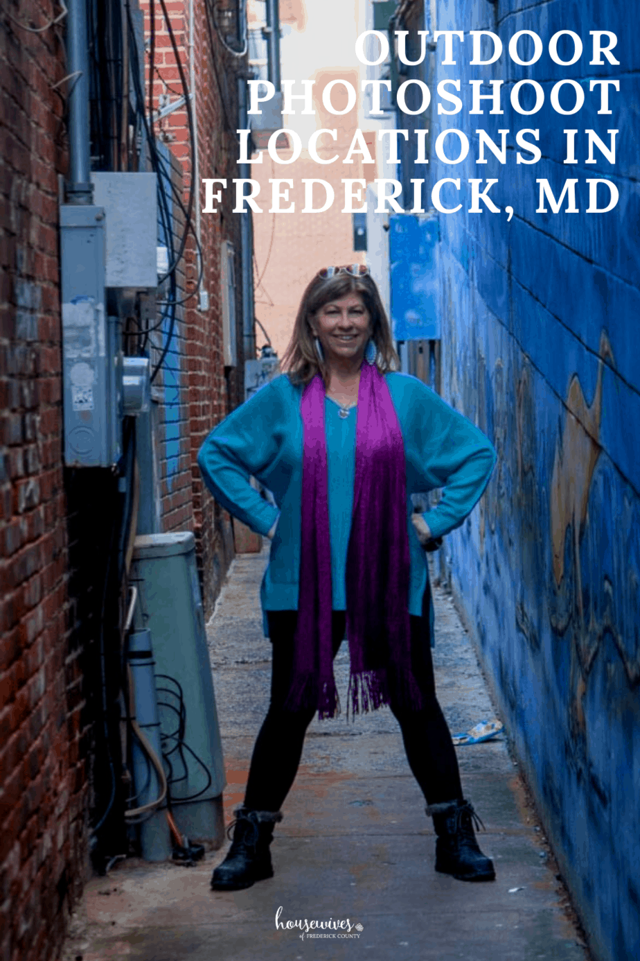 Outdoor Photoshoot Locations in Frederick Md
